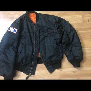 Astronaut's Wife Cast & Crew bomber jacket
